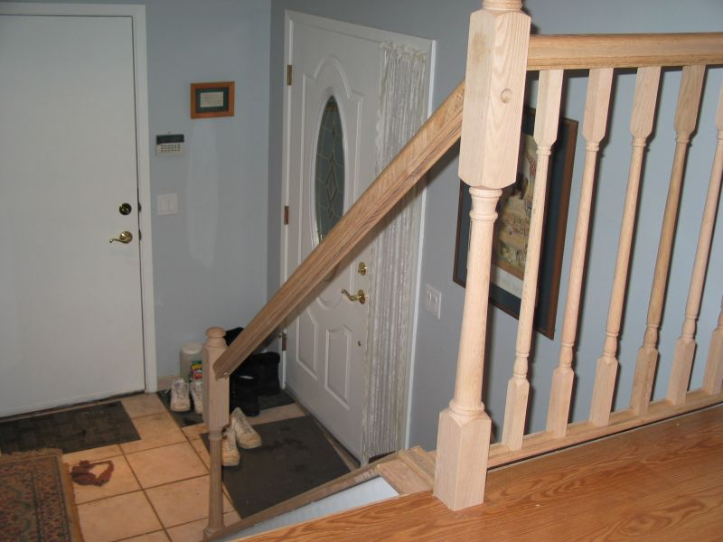 Installing Our Stair Railing
